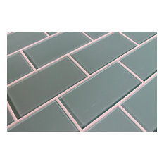 Rocky Point Tile Co Seaside Blue Gl Subway Sample Mosaic