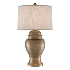 Currey & Company, Inc. - Irene Table Lamp, Antique Gold - Table Lamps