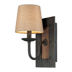elk early american 1light wall sconce vintage rust wall sconces