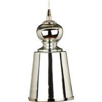 Long Lafitte Pendant, Mercury Glass