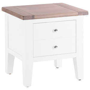 1-Drawer Lamp Table, Pure White