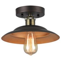 Industrial Flush-mount Ceiling Lighting by CHLOE Lighting, Inc.