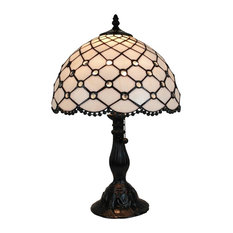 Merveilleux AMORA LIGHTING LLC   Amora Lighting Tiffany Style Jewel Table Lamp 19  Inches Tall   Table
