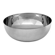 Loft Metal Vessel Sink, Chrome, 37x16 cm