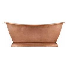 Squared Slipper Copper Bathtub by SoLuna, Rio Grande