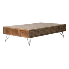 Moe's Home Collection - Javadi Coffee Table, Dark Brown - Coffee Tables