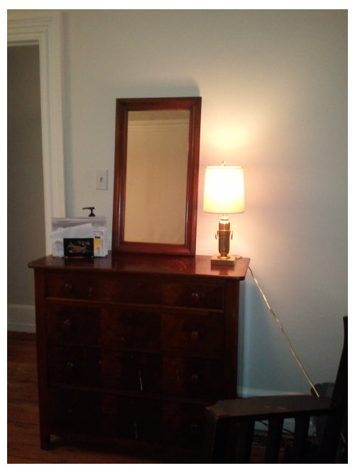 What Size Lamp For This Dresser, What Size Mirror For Dresser