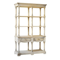 88634 Adela French Country Bookcase 51x19.5x81.5-inch