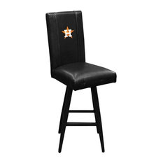 Houston Astros MLB Bar Stool Swivel 2000 With Secondary Logo Panel