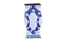 Canton in Blue Vase