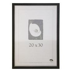 Black Clean Cut Picture Frame, 20x30