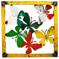 Barnyard Butterfly Wall Panel Large