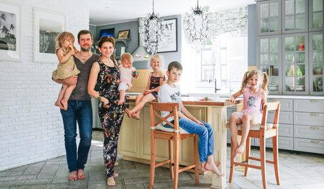В гостях: Дом для семьи с пятью детьми