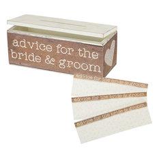 Advice Box, Bride & Groom