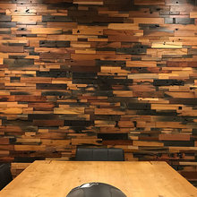 Realstone Systems Reclaimed Wood Projects