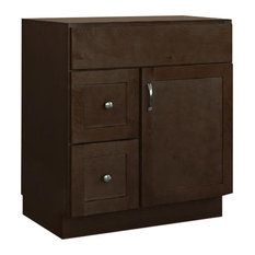 Unfinished wood bathroom vanities houzz - Unfinished shaker bathroom vanity ...