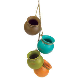 Beach Style Indoor Pots And Planters by Koolekoo