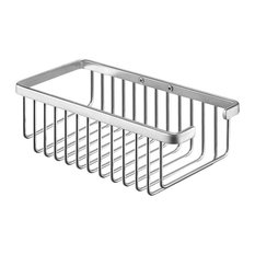 Exquisite Bottle and Sponge Basket, Stainless Steel, Large