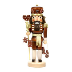 alexander taron christian ulbricht nutcracker gingerbread king natural holiday accents and
