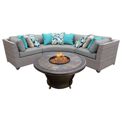 Contemporary Outdoor Lounge Sets by Design Furnishings