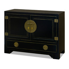 Chinese Ming Style Black Cabinet Without Bowl Or Faucet