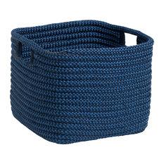 """Carter Basket - Blue 15""""x15""""x16"""""""