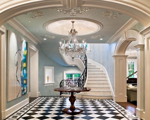 Images de décoration et idées déco de maisons painted foyer dome ...