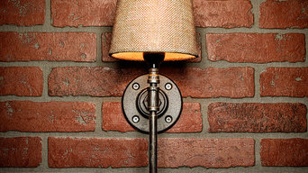 Farmhouse Rustic Industrial Sconce