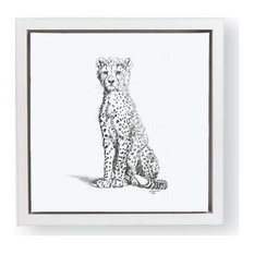 """""""WILD CHILD-Cheetah"""" by John Banovich Limited Edition Giclee, Canvas, 21"""