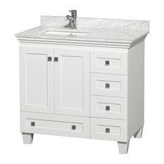 Offset Single Sink Bathroom Vanities | Houzz