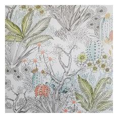 York Flowering Desert Beige Wallpaper