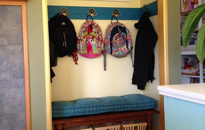From Coat Closet to Mudroom for Less Than $300
