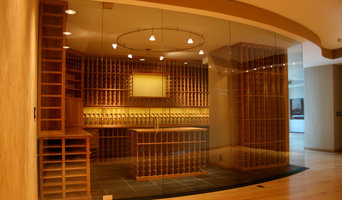 Wine Room Glass Wall