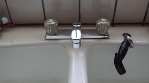 Low Water Pressure In Kitchen Sink Only