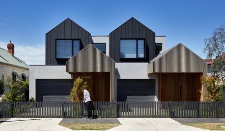 A Family Affair: Side-by-Side Townhouses for Two Brothers
