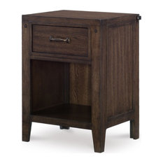 Emma Mason SIgnature Rhysen Night Stand In Oiled Oak