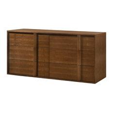 Modrest Berlin Modern Walnut Dresser