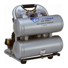 Ultra Quiet and Oil-Free 2.0 HP, 4.0-Gallon Twin Tank Air Compressor, 110V