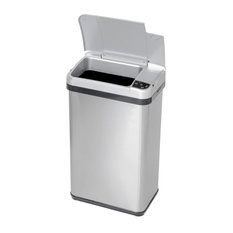 Itouchless Housewares Products Inc Multifunction Sensor Trash Can Stainless Steel