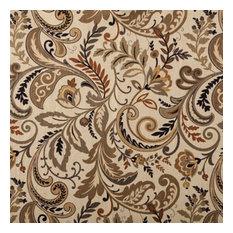 Designer Roman Shades Plain Fold, 36Wx38H, Saddle