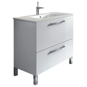 Urban 80 Bathroom Vanity Unit, 80x45 cm, White