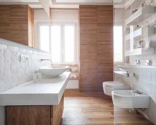 Best Mid-Sized Modern Bathroom Design Ideas & Remodel ...
