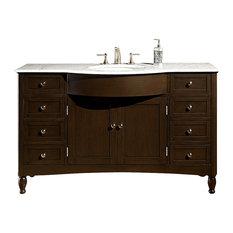 58 in. Single Sink Cabinet