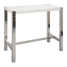 Riva Bar Table, White