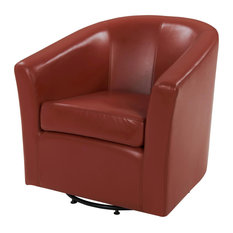 Hayden Swivel Bonded Leather Chair