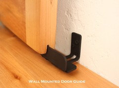 Hi Kathy There Are Door Guides That Come With Each Order Of Barn Door  Hardware That Keep The Door From Swinging Out. ...
