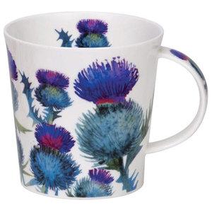 Dunoon Cairngorm Scottish Thistles Fine China Mug Cup, 480ml