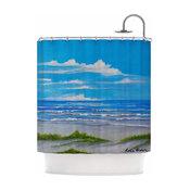 "Rosie Brown ""Sanibel Island"" Shower Curtain"