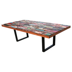 Farmhouse Dining Tables by Chic Teak