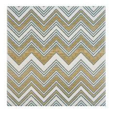 """SomerTile 7.75""""x7.75"""" Puccini Ceramic Floor/Wall Tiles Wave, Set of 25"""